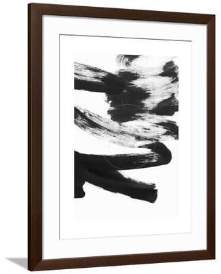 Black and White Strokes 5 - art.com