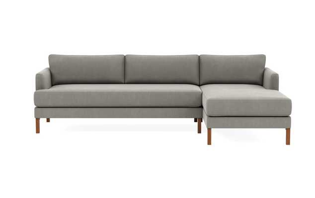 WINSLOW 3-Seat Right Chaise Sectional Mortar - Interior Define