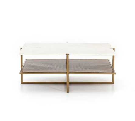 HYLA MARBLE COFFEE TABLE - Pottery Barn