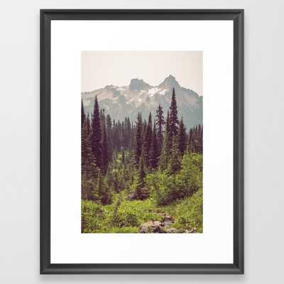 "Faraway - Wilderness Nature Photography Framed Art Print - 20"" X 26"" - Society6"