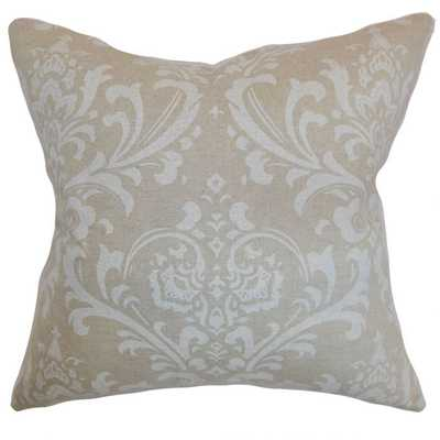 OLAVARRIA DAMASK PILLOW CLOUD LINEN - Linen & Seam