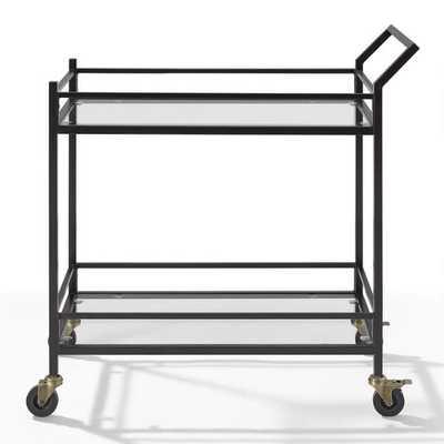 Bronze Milayan Bar Cart - World Market/Cost Plus