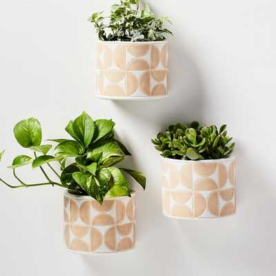 Terracotta Wallscape Planter - West Elm