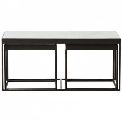 Evelyn Nesting Coffee Table - High Fashion Home