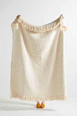 Textured Kadin Throw Blanket - Anthropologie