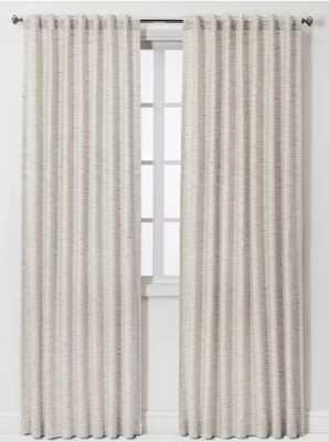 Striation Herringbone Light Filtering Curtain Panels - Project 62™ - Target