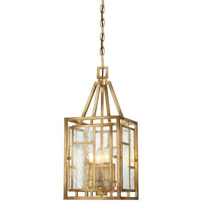 "Edgemont Park 4 - Light Lantern Rectangle Pendant - 10""W - Wayfair"