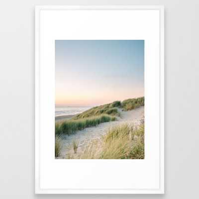 Dunes of Holland   Sunset Travel Photography   Pastel Fine Art Beach Print - Society6