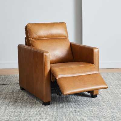 Harris Leather Power - Recliner - West Elm