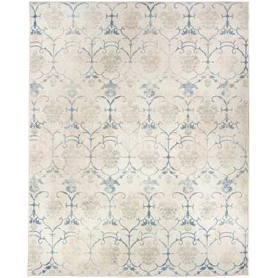 Washable Leyla Creme 8 ft. x 10 ft. Stain Resistant Area Rug - Home Depot