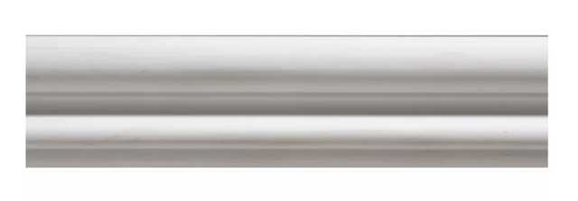 "Gesso Colonial Contemporary Panel Moulding 1.75"" H x 96"" W x 0.57"" D Chair Rail - Wayfair"