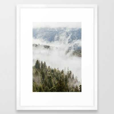 Mountain, Nature Photography, Wanderlust Framed Art Print - Society6