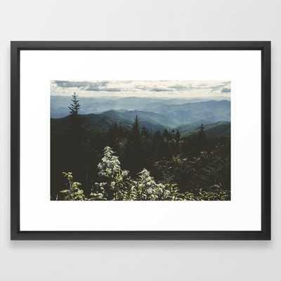 "Smoky Mountains - Nature Photography Framed Art Print, 20"" x 26"" - Society6"
