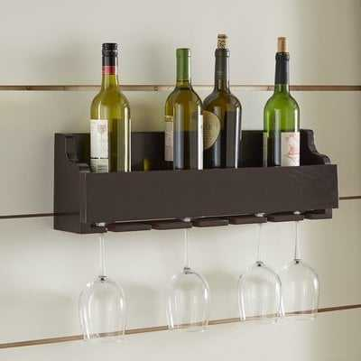 Gonzalez 6 Bottle Wall Mounted Wine Rack - Birch Lane