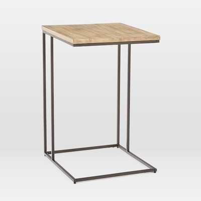 Streamline C-Side Table - Wood - West Elm