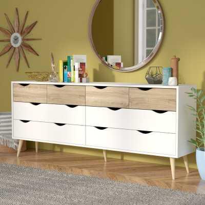 Dowler 8 Drawer Double Dresser - Wayfair