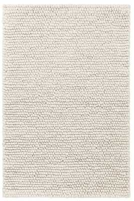 NIELS IVORY WOVEN WOOL/VISCOSE RUG 8 x 10 - Dash and Albert