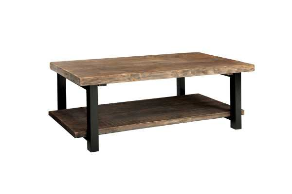 "Borica 42"" Wood/Metal Coffee Table - Birch Lane"
