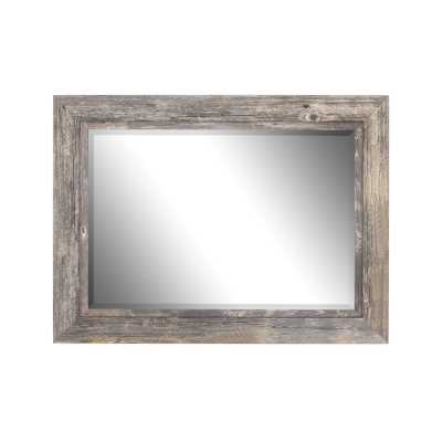 Traditional Beveled Distressed Accent Mirror - Birch Lane
