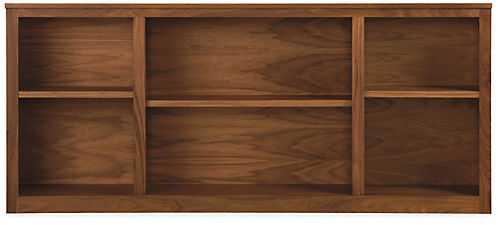 Woodwind 30h Bookcase, Walnut, Long - Room & Board