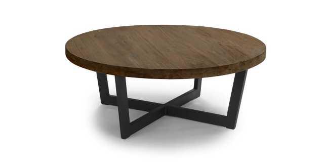 Toba Vintage Brown Coffee Table - Article