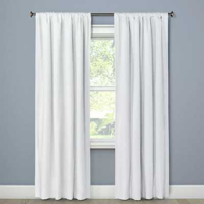 Blackout Curtain Panel Henna White 84 - Project 62 - Target