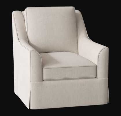 Bella Swivel Chair - Luca Natural - Birch Lane