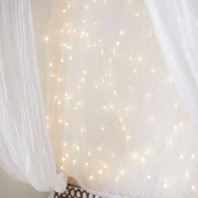 Fairy Light Panel - Pottery Barn Teen