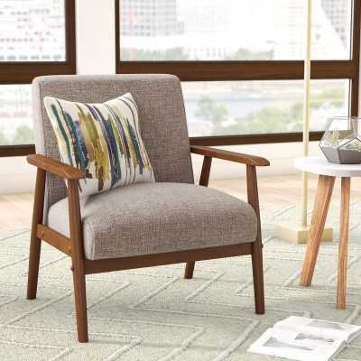 Derryaghy Wood Frame Armchair - Wayfair