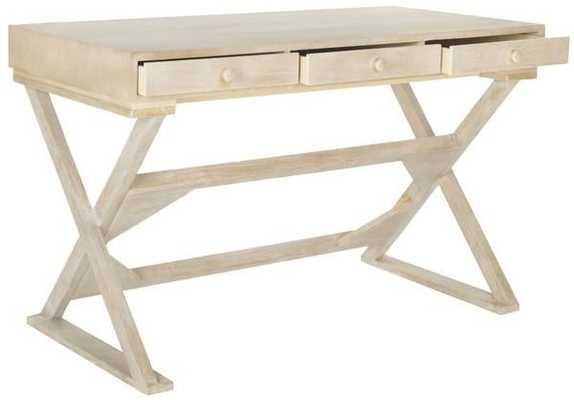 Gilbert Desk - Natural - Arlo Home - Arlo Home