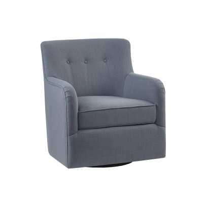 "Quinten Swivel 22"" Armchair - Wayfair"