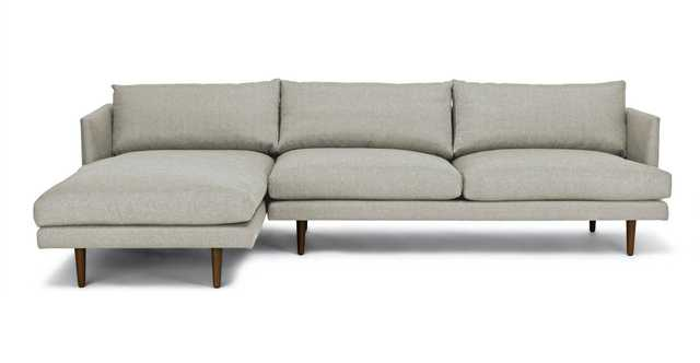 Burrard Seasalt Gray Left Sectional Sofa - Article