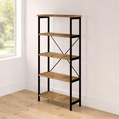 Parthenia Etagere Bookcase - Wayfair