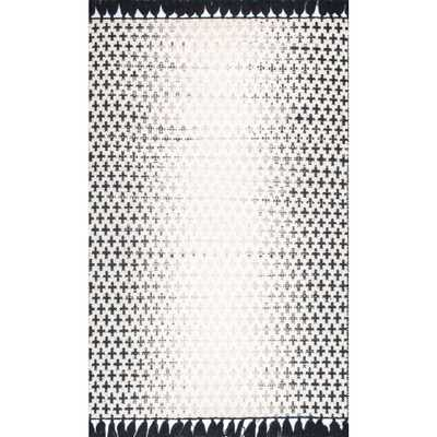 Renna Reversible Tassel Ivory 8 ft. 6 in. x 11 ft. 6 in. Area Rug - Home Depot