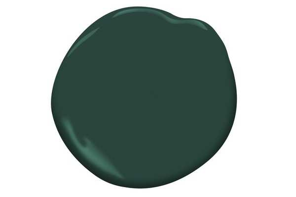 Hunter Green (2041-10), Satin Finish, Gallon Size *NOT FOR PURCHASE* - Benjamin Moore