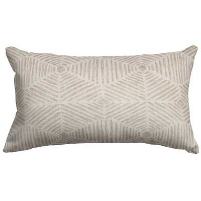 Ashby Lumbar Pillow // Beige - AllModern
