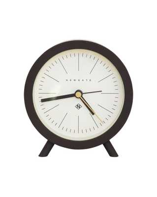 MID CENTURY ALARM CLOCK - BROWN & CREAM - McGee & Co.
