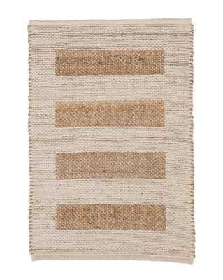 MILO JUTE & COTTON RUG, 5' x 8' - McGee & Co.