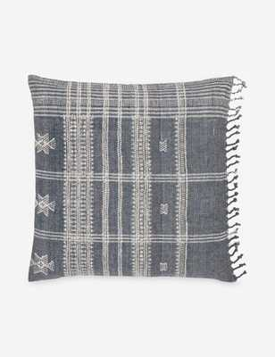 Kristina Pillow, Slate - includes down insert - Lulu and Georgia