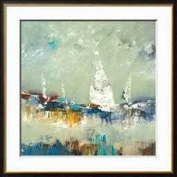 Sailing Away By Lisa Ridgers - Art Print in Coventry Frame - art.com