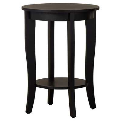 Haines End Table, Black - Wayfair