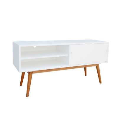"Staveley Media Console TV Stand for TVs up to 65"" - Wayfair"