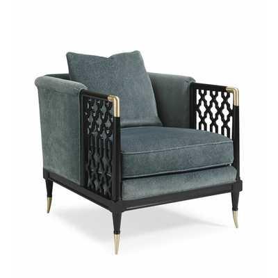 Caracole Classic Barrel Chair - Perigold