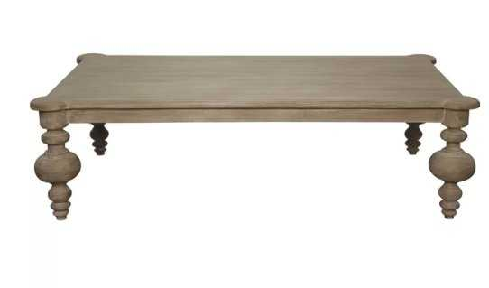 Noir Graff Hand Weathered Coffee Table - Perigold