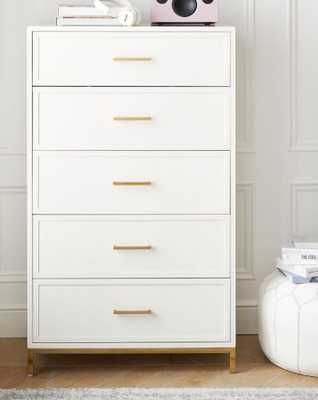 Blaire 5-Drawer Tall Dresser - Pottery Barn Teen