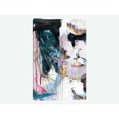 Time Set I by Dan Hobday - Wrapped Canvas Print - AllModern