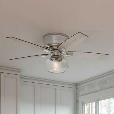 """52"""" Bennett 5 Blade LED Ceiling Fan with Remote, Light Kit Included - Wayfair"""