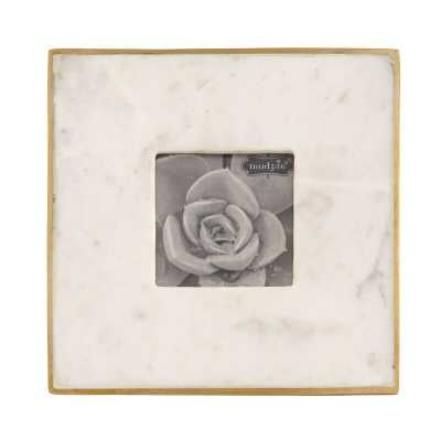Marble Picture Frame - 3x3 - Wayfair