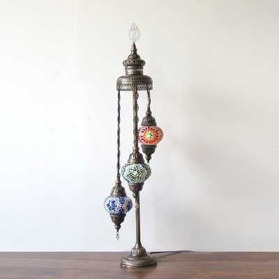 "Ellzey 3 Ball 43"" Novelty Floor Lamp - multi color - Wayfair"