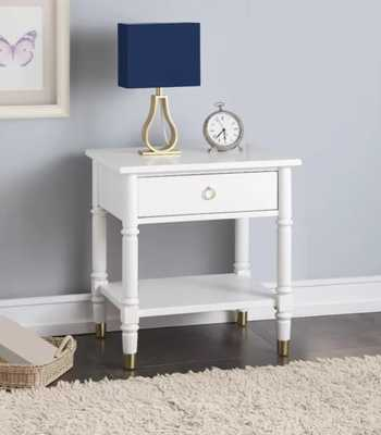 Metcalf 1 Drawer Nightstand - Wayfair